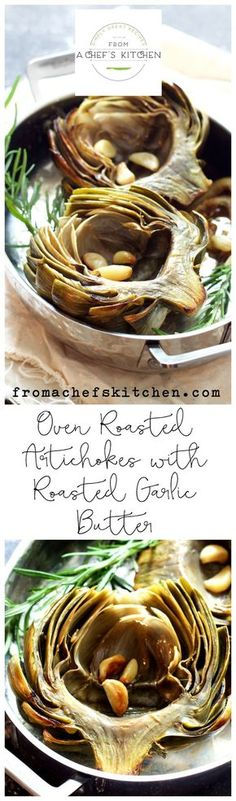with Garlic Butter The best way to enjoy artichokes! Oven Roasted Artichokes with Roasted Garlic ButterThe best way to enjoy artichokes! Oven Roasted Artichokes with Roasted Garlic Butter Roasted Artichokes, Roasted Garlic, Vegetarian Recipes, Cooking Recipes, Vegan Meals, Healthy Recipes, Artichoke Recipes, Side Dish Recipes, Side Dishes