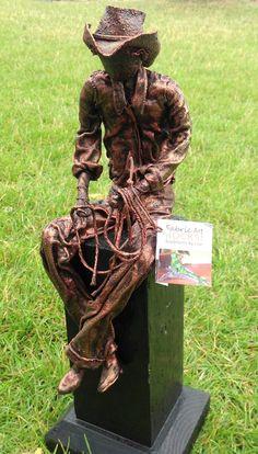 Sold Sculptures: - Fabric Art ROCKS! Sculptures by Lise