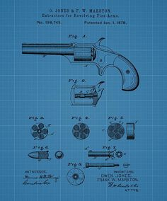 Firearm Extractor Blueprint Patent