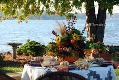 Fall centerpiece/table