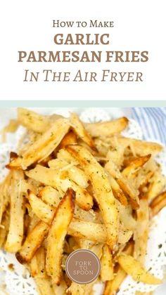Air Fryer Oven Recipes, Air Frier Recipes, Air Fryer Dinner Recipes, Appetizer Recipes, Appetizers, Cooking Recipes, Healthy Recipes, Good Recipes, Side Recipes