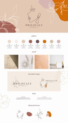 Philocaly – Alubia design Informations About Philocaly Handmade Co. — Alubia design Pin You can Website Design Inspiration, Graphic Design Inspiration, Brand Inspiration, Corporate Branding, Identity Branding, Visual Identity, Corporate Design, Tshirt Branding, Luxury Branding