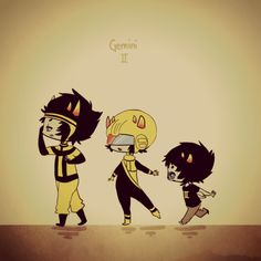 Psionic, Mituna ( I think that is his name?), Sollux