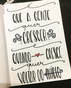 Lettering Tutorial, Lettering Design, Quotes To Live By, Life Quotes, Portuguese Quotes, Handmade Stamps, Inspirational Phrases, More Than Words, Texts