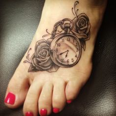 I like the watch for a birthday for your child tattoo instead of there name