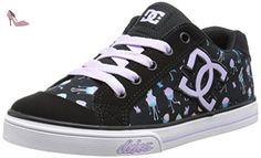 Dc Shoes Chelsea Graffik, Baskets mode unisex, Black, 30 EU - Chaussures dc shoes (*Partner-Link)