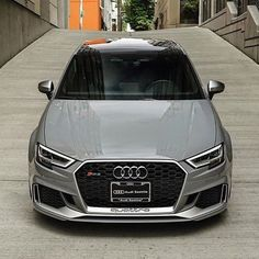 Hello handsome - the sedan is looking better and better. With black optics it would be perfection New sedan - - 5 cylinders - Nardo grey ---- oooo - what else ---- . Audi Allroad, Audi Rs3, Audi A3 Sedan, Aston Martin Cars, New Ferrari, Exotic Sports Cars, Premium Cars, Audi Sport, Expensive Cars