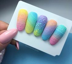 Discover recipes, home ideas, style inspiration and other ideas to try. Cute Nail Art, Cute Nails, Pretty Nails, Magic Nails, Nail Art Designs Videos, Pretty Nail Designs, Manicure E Pedicure, Best Acrylic Nails, Nail Art Hacks