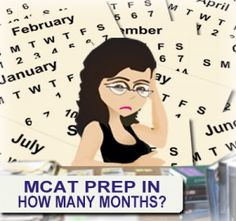 MCAT Prep: How much time do you really need? Forget the generic equations, set a timeline based on your life/schedule/needs