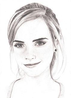 Emma Watson drawing by Bree-Style.deviantart.com on @deviantART