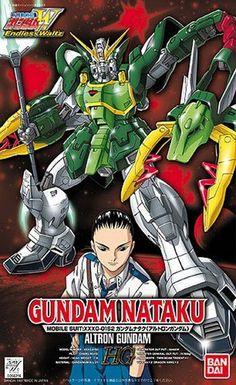 Bandai Hobby Gundam Wing #1 GUNDAM NATAKU / Altron 1/100 High Grade Model Kit