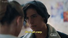 """Stay Whelmed — riverdalefanfics: """"We're not our families."""""""