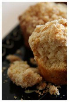 Muffins aux pommes & streussel