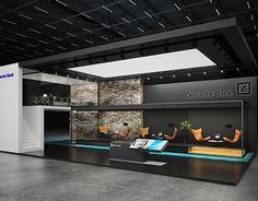 * Deutsche bank *exhibition stand *