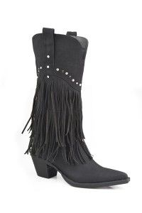 Roper Ladies Oakley Fringe And Stud Fashion Boot is an excellent product we know our customers will love. Distressed Faux Leather * Lightweight Flexible Bottom * 12