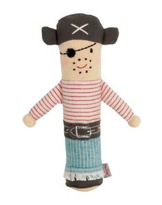 Love me a pirate rattle.