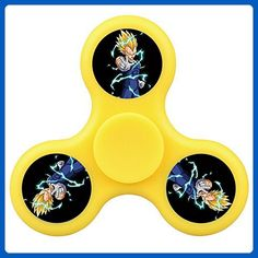 Vegeta Fidget Spinner,Hand Spinner,Excellently-Printing, Nice Weight, Well-Balanced,Safety, Great Gift for Having fun,Killing time,Help with Focus,ADHD,Anxiety - Fidget spinner (*Amazon Partner-Link)