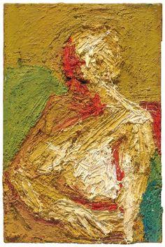 Frank Auerbach  http://www.telegraph.co.uk/content/dam/art/2015-10/halflegthnude-xlarge.jpg