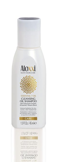 Aloxxi Essential 7 Oil Care Cleansing Shampoo 45ml.