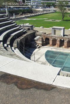 """● Just a few blocks away from Aristotelous square lies the roman heart of the ancient city, the Roman Forum, also known as """"Ancient Agora"""". The Agora was constructed by the Romans in the late 1st century A.D. ● Η αρχαία αγορά κατασκευασμένη από τους Ρωμαίους στα τελευταία χρόνια του 1ου αιώνα μΧ, υπήρξε το επίκεντρο της δημόσιας και πολιτικής ζωής της πόλης. ● Read more: http://www.inthessaloniki.com/en/must-see-in-thessaloniki/archaeological-sites#ixzz3WRUaAu6r"""