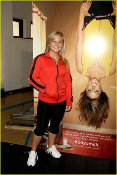 Shawn Johnson I like her shoes