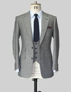 TS grey houndstooth suit