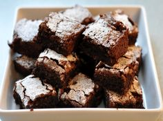 the food network Brownies Sains, My Favorite Food, Favorite Recipes, Healthy Brownies, Coconut Brownies, Famous Recipe, Tasty, Yummy Food, Best Food Ever