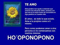 TE AMO - HOOPONOPONO EL PODER DEL AMOR