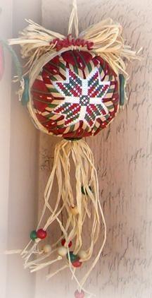Name: 'Quilting : Folded Star Cross Stitch Ornaments Quilted Christmas Ornaments, Christmas Cross, Christmas Balls, Star Ornament, Ball Ornaments, Crochet Kids Scarf, Fabric Balls, Christmas Crochet Patterns, Crochet Crafts