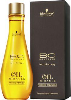 Schwarzkopf BC Bonacure Oil Potion Finishing Treatment Argan Oil 3.4 oz / 100 ml #Schwarzkopf