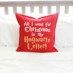 "Harry Potter Christmas Decor ""All I Want for Christmas is my Hogwarts... (£19) ❤ liked on Polyvore featuring home, home decor and christmas home decor"