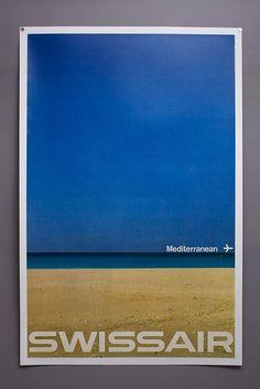 Swissair en Méditerranée