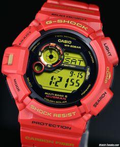 CASIO G-SHOCK 30th Rising RED MUDMAN GW-9330A-4JR 30周年記念 ライジングレッド マッドマン