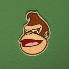 Donkey Kong  Ironon video game patch by OKsmalls on Etsy, $5.00