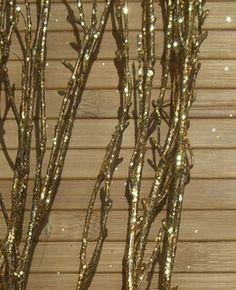 Birch Branches Gold 3-4 ' (4 branches) // $7