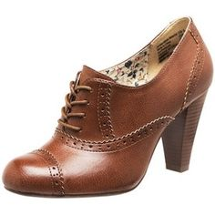 Cute Oxford heels-I have these in black! :)