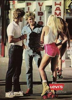 Vintage Levi's Ads #the2bandits #banditblog