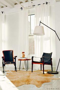 A Lust for Life: Inside Olivia Lopez's Fashionable Loft via @mydomaine