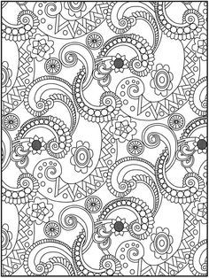 complicated coloring pages for adults - google search | mandalas ... - Complicated Coloring Pages