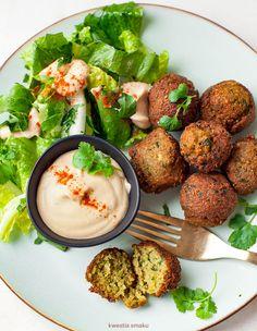 Falafele Vegan Vegetarian, Vegetarian Recipes, Vegan Food, Polish Recipes, Polish Food, Weekly Menu, Falafel, I Foods, Food Inspiration