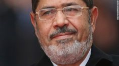 Egyptian President Mohamed Morsy is shown on January 30, 2013, in Berlin.