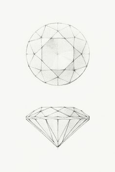 The Tiffany Guide to Buying Diamonds – When the choice is size or beauty, Tiffany diamond cutter always chooses beauty. Diamond Sketch, Diamond Drawing, Plakat Design, Jewelry Design Drawing, Jewelry Illustration, Diamond Illustration, Jewellery Sketches, Illustrator, Technical Drawing