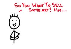 Mike Davenport and I partnered together to make this comprehensive guide on how to sell art on the Internet. Mike is the creator of Stick Figure Simple and a talented artist in his own right. You can see more of his work here: http://stickfiguresimple.com/    This guide includes a list of things you need to do to sell art online, as well as links to other articles on TheAbundantArtist.com that explain more on how to do that.