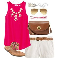 Classically preppy- cute outfit!