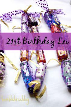 21st Birthday Lei