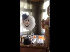 Peggy Bonds Snowman Wreath (video tutorial)