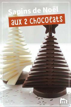 Envie de réaliser un dessert pas comme les autres ? Alors testez le kit sapin de Noël 3D ! /// #ElleHabiteLa #Marmiton #Aufeminin #Noël #recette