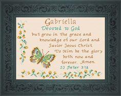 Name Blessing - Gabriella 2