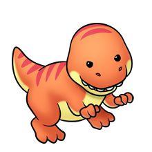 how to draw cartoon Cute Animal Clipart, Cute Cartoon Animals, Cute Clipart, Baby Animals, Cute Animals, Baby Dinosaurs, Cartoon Dinosaur, Dinosaur Party, 365 Kawaii