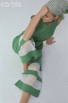 @Greenjumpnl Green Jump Suit by Mr. Gee 1965